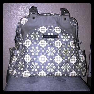 Petunia Pickle Bottom Satchel/Backpack Diaperbag